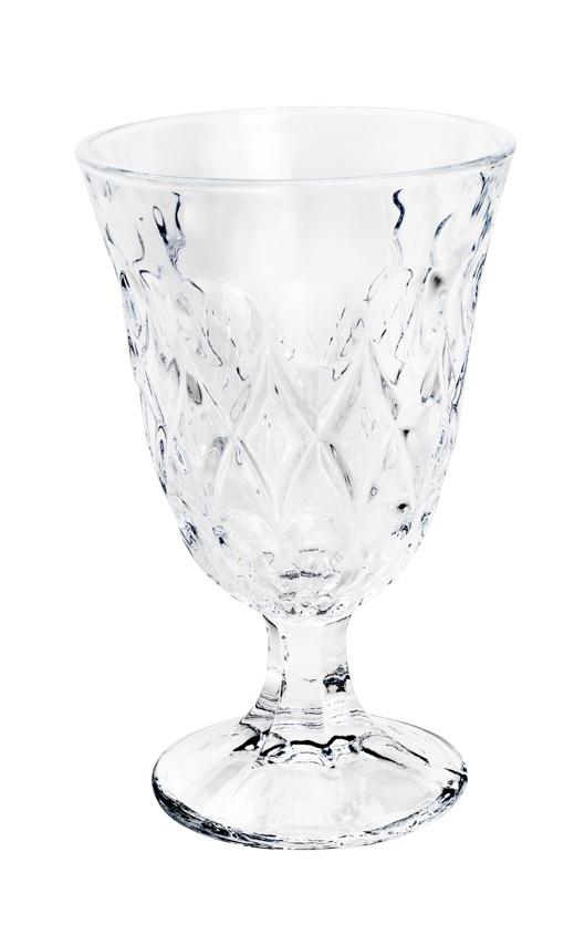 Jogo 7 peças com Jarra 1,5 Litros e  6 Taças para água 240ml de Cristal Lile