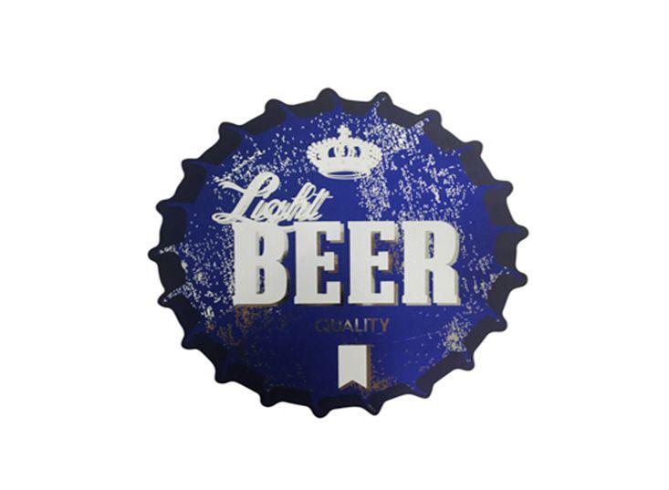 Jogo Americano Soda Light Beer Azul (Jogo com 4 peças)