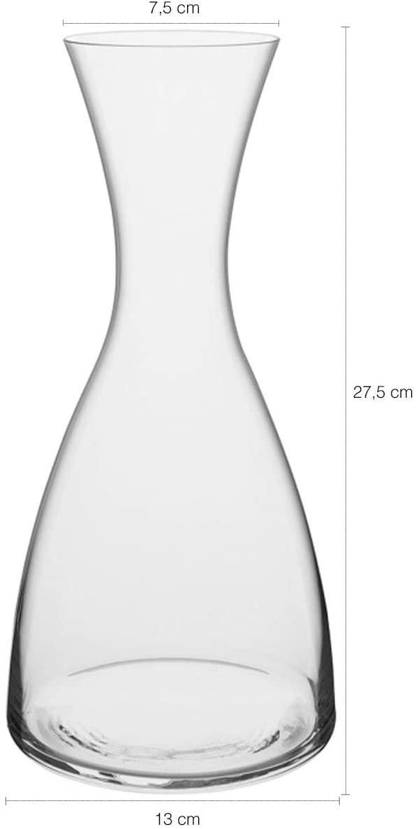 Jogo Decanter e Taças 1,2L / 455ml Cristal Transparente Bohemia -  5  pçs - Giselle