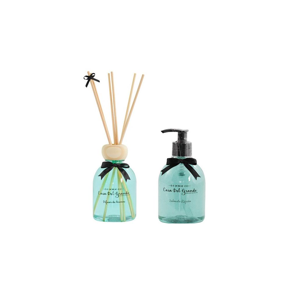 Kit Aromas Alecrim (Difusor de Aromas + Sabonete Liquido)