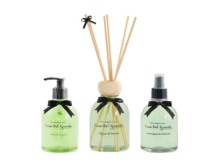 Kit Aromas Bamboo (Difusor de Aromas + Aromatizante + Sabonete)