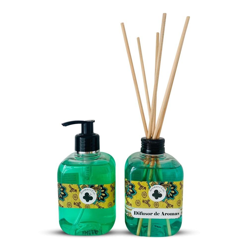 Kit Aromas Cítrico  (Difusor de Aromas + Sabonete)
