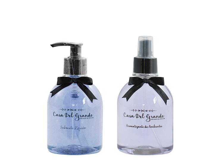 Kit Aromas Lavanda (Aromatizante + Sabonete Liquido)