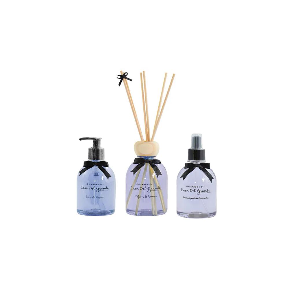 Kit Aromas Lavanda (Difusor de Aromas + Aromatizante + Sabonete)