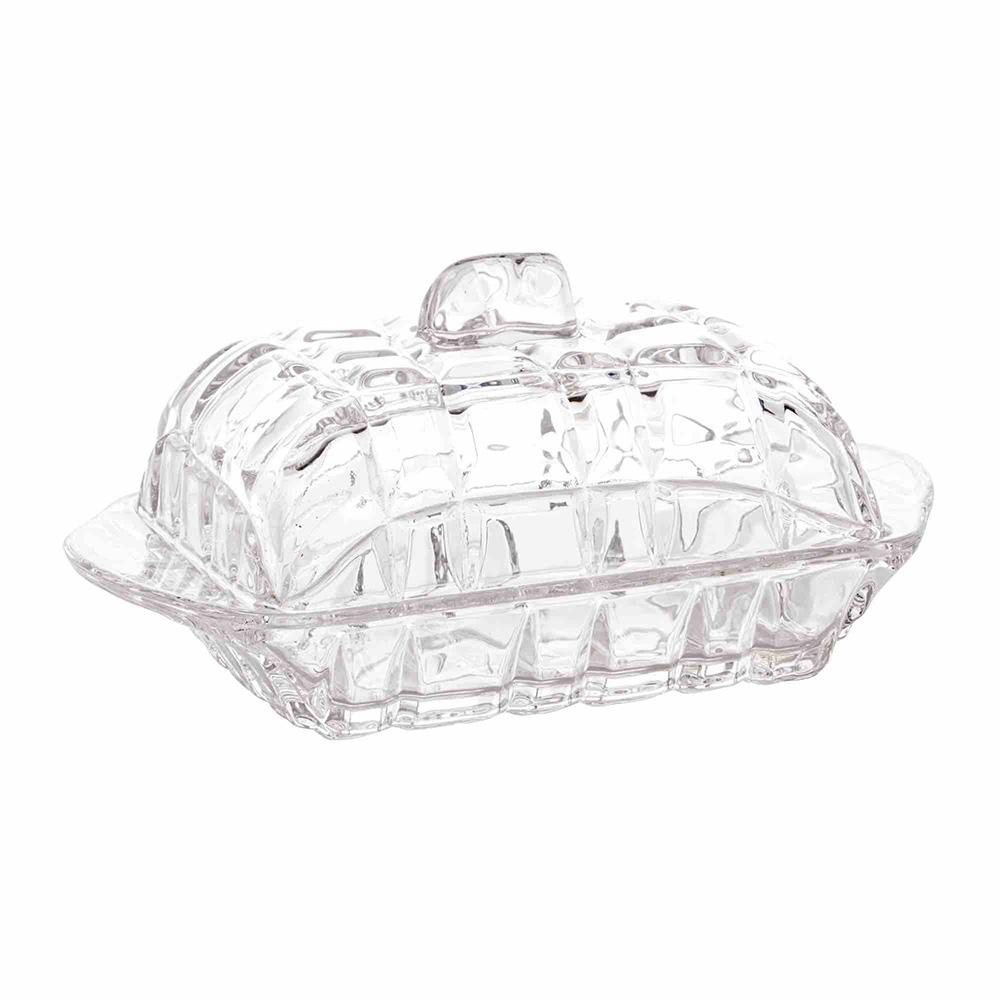 Manteigueira de Cristal Deli 16,9 x 8 x 10 cm