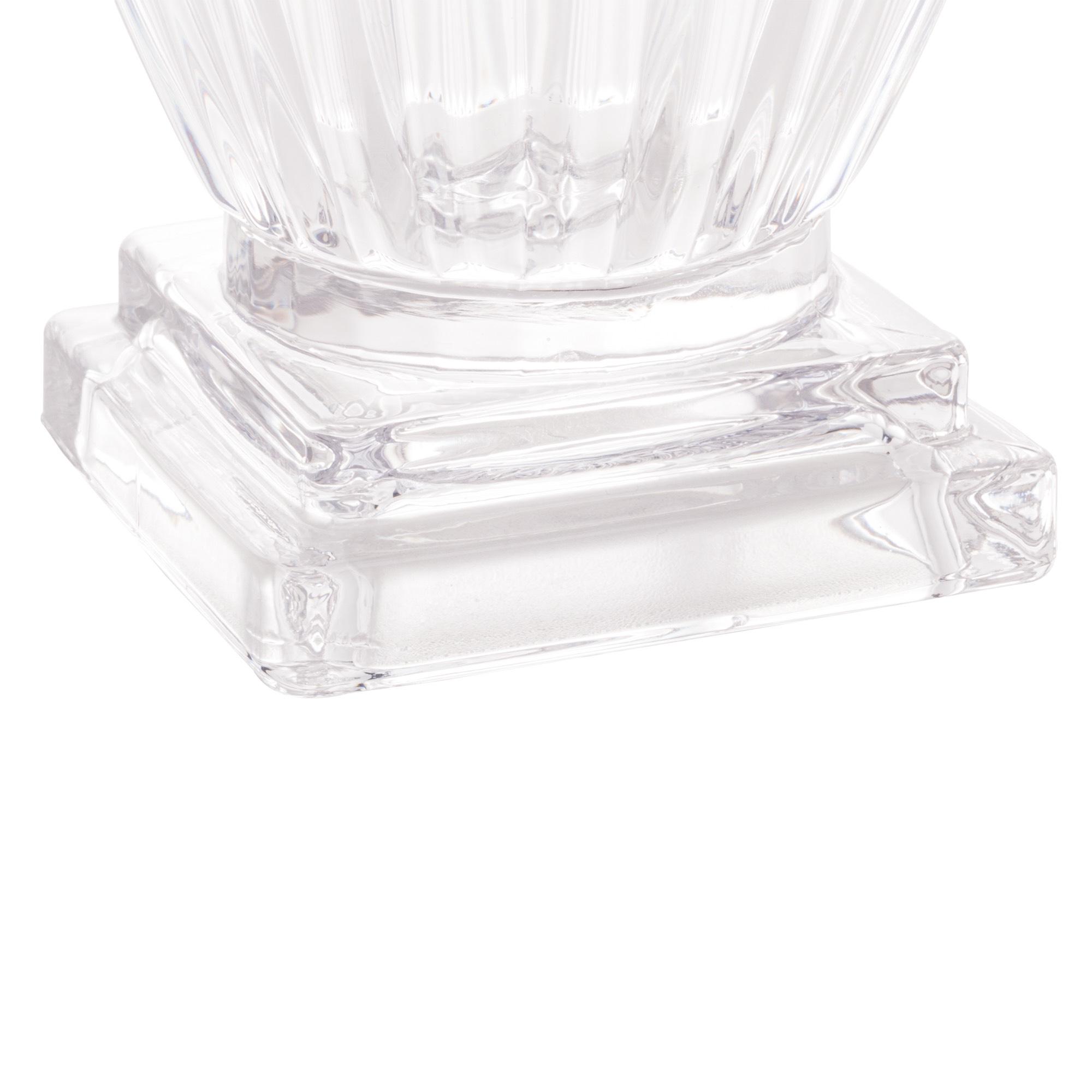 Porta Talher Cristal de Chumbo Elisabeth 10 x 9 x 13cm