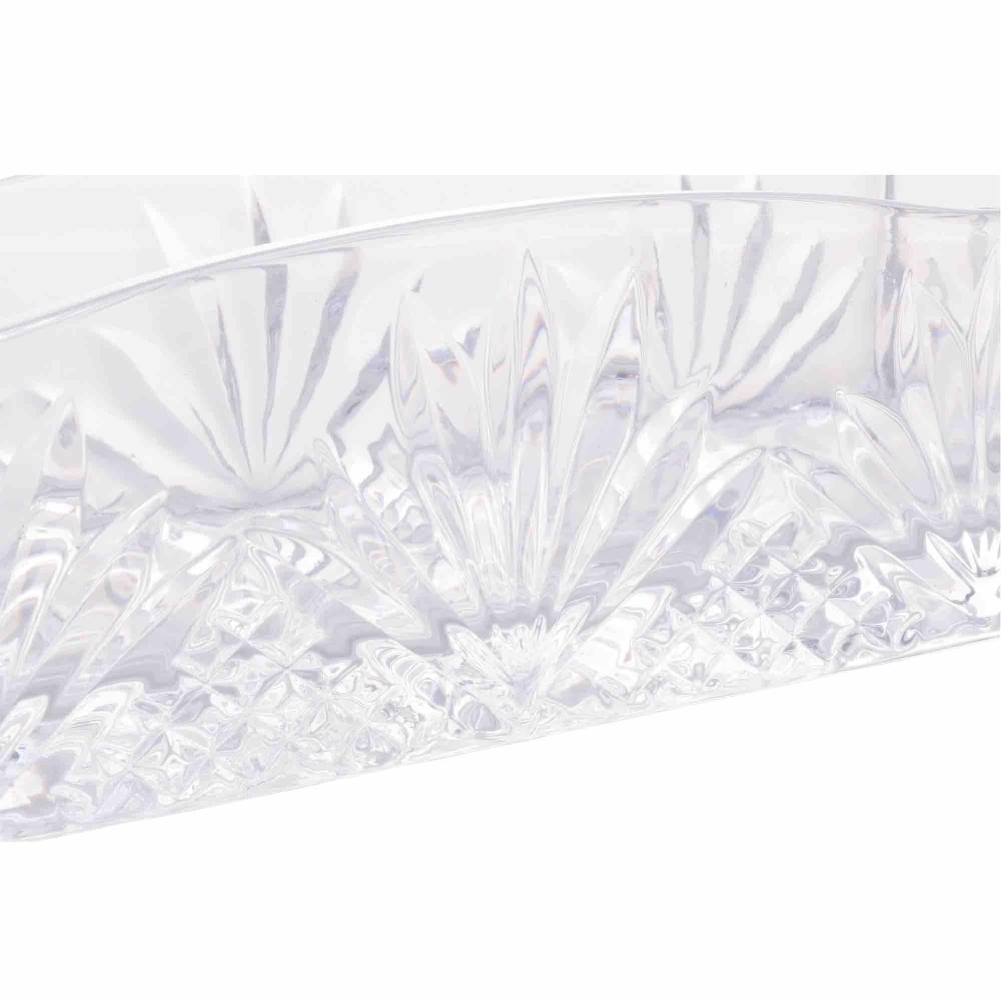 Porta Talher de Cristal Dublin 27 x 8 x 9 cm