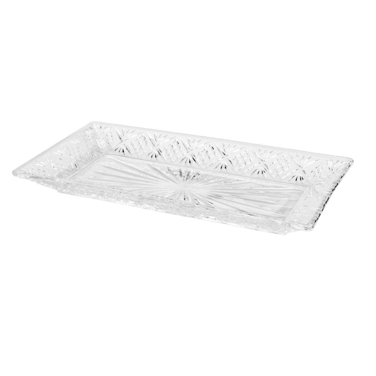 Prato de Cristal Dublin 30 x 15,5 cm