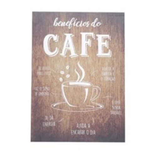 Tela Quadro Benefícios Do Café Decoração Cantinho Café