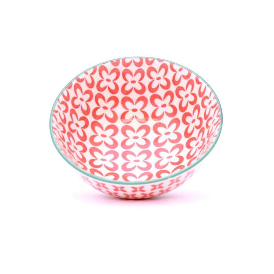 Tigela Bowl Cumbuca Colorida em Cerâmica Berna