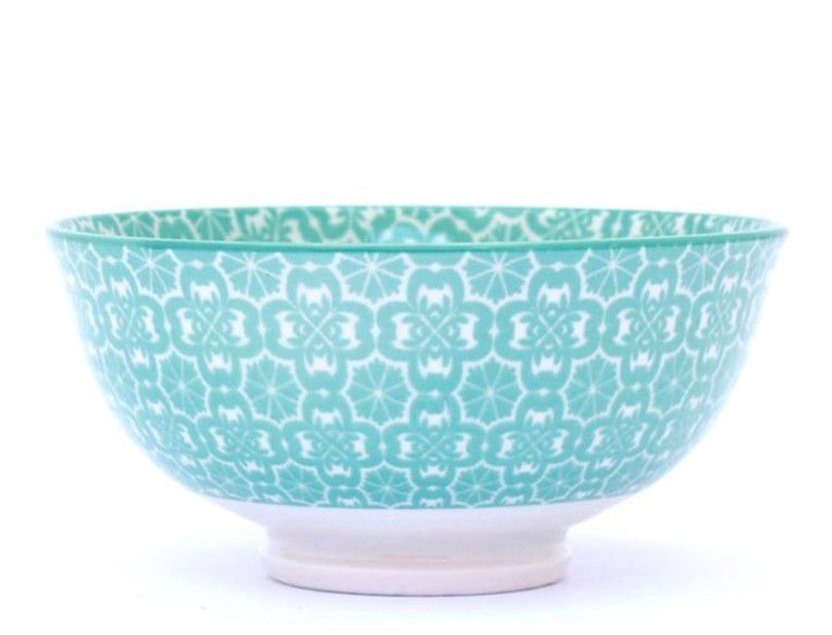 Tigela Bowl Cumbuca em Cerâmica Colorida Frankfurt