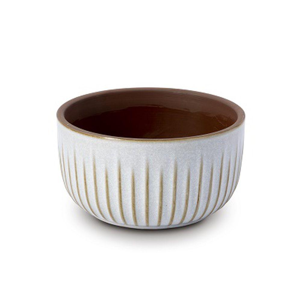 Vaso Cachepot Para Flores Em Cerâmica  14,5 X 8 Cm Decoração