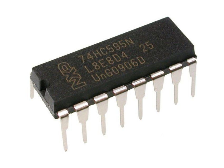74HC595 CI Registrador de Deslocamento