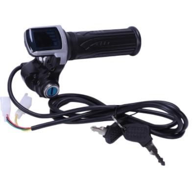 Acelerador de Punho 48V Chave Liga Desliga e Display