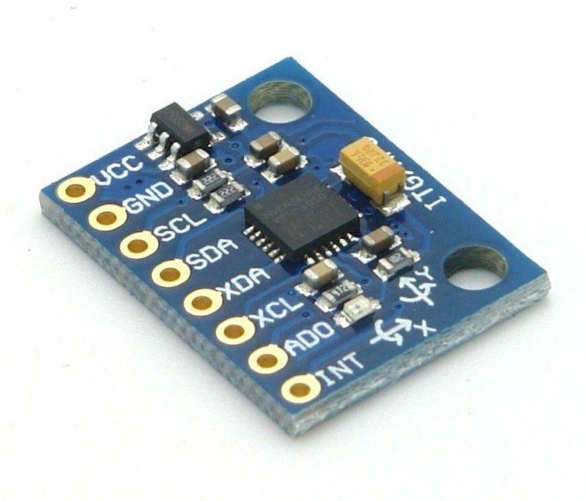 Acelerômetro e Giroscópio 3 Eixos MPU-6050 GY-521