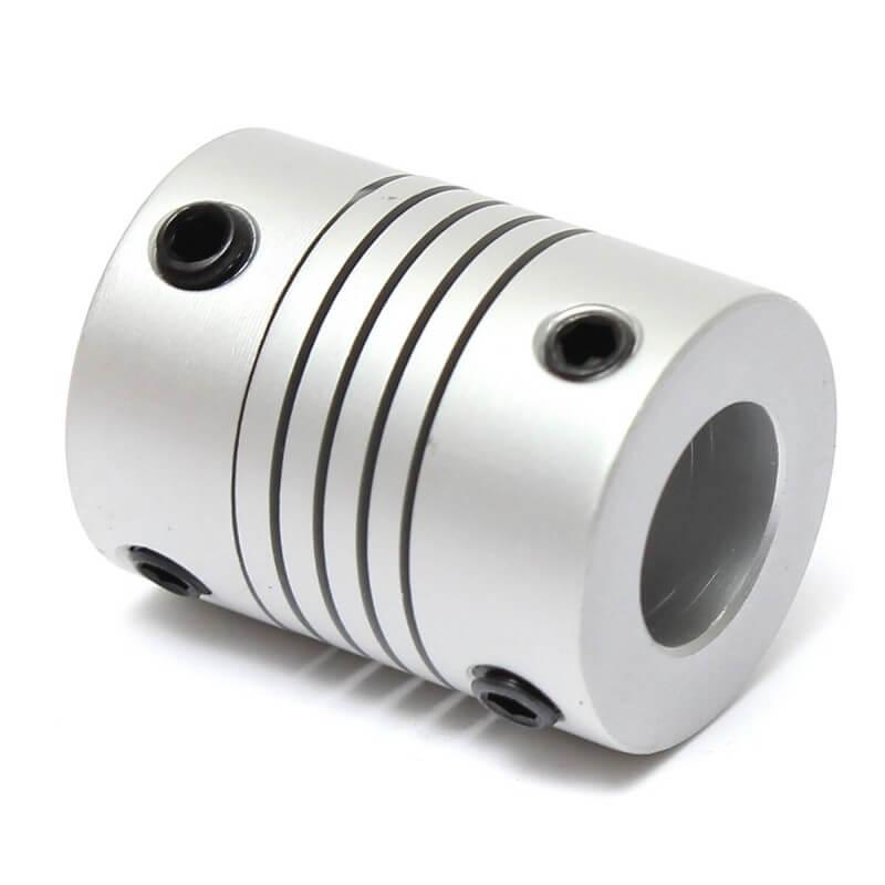 Acoplamento Flexível para motor de passo 8x10mm