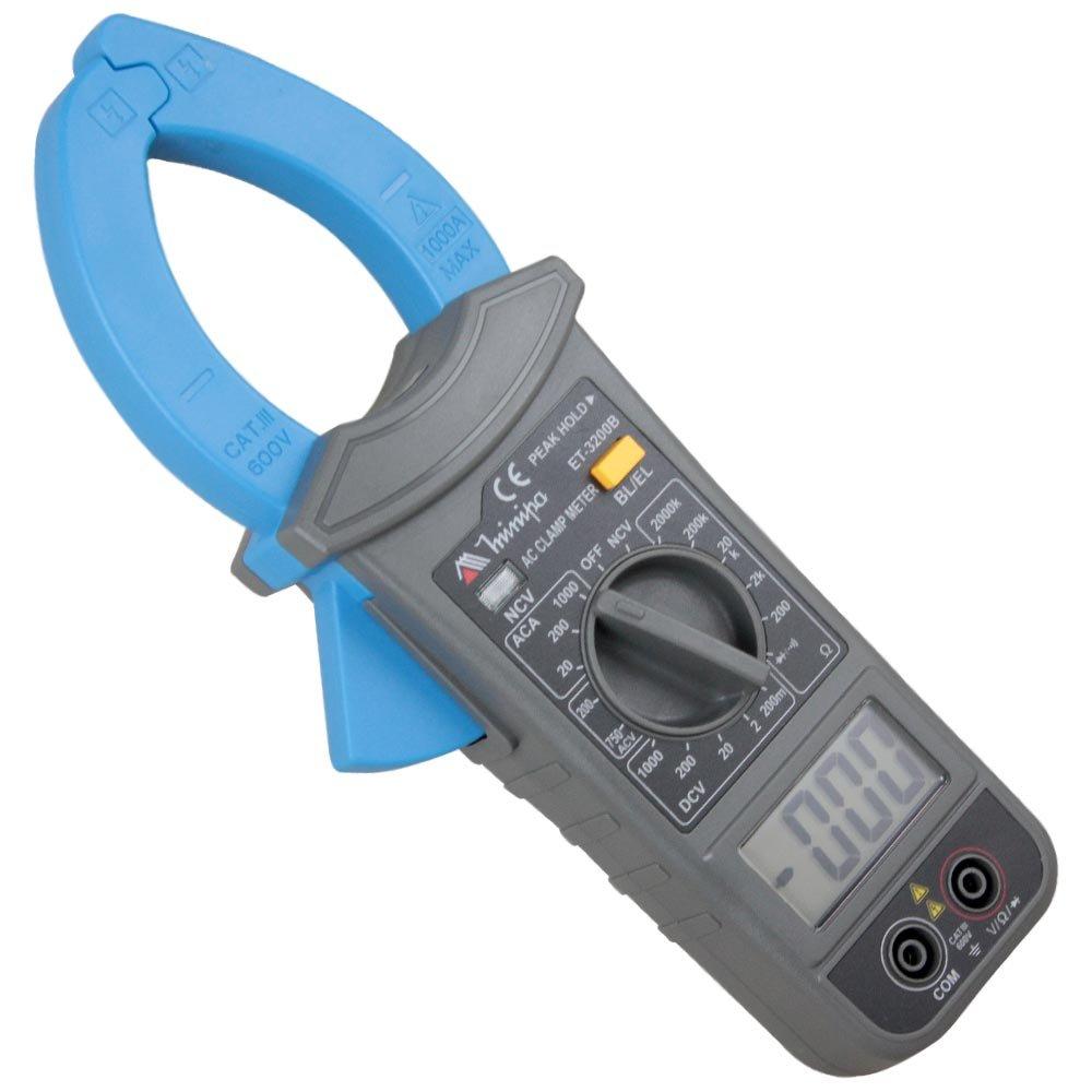 Alicate Amperímetro Digital Minipa ET-3200B