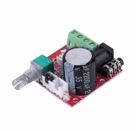 Amplificador De Áudio PAM8610 Estéreo 10W