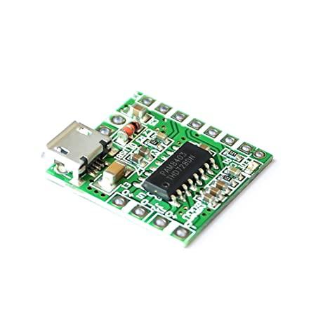 Mini Amplificador de Som PAM8403 com Micro-USB