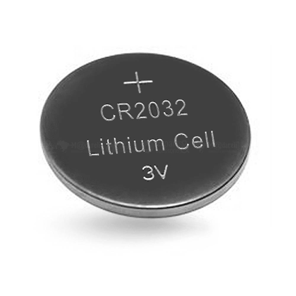 Bateria Botão Lítio CR2032 3V - Elgin