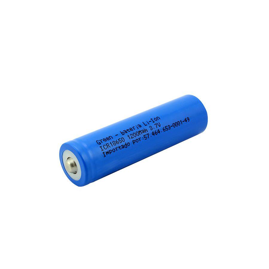 Bateria 18650 - 3.7V x 1200mAh