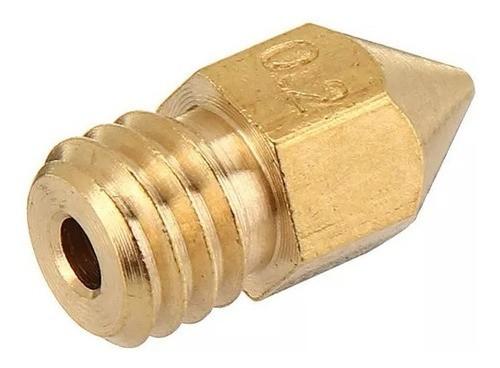 Bico Hotend 1,75MM M6 - Nozzle 0,2MM