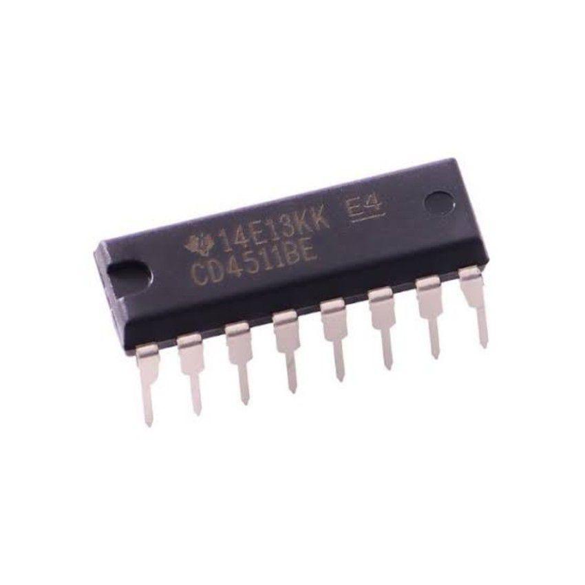 CI Decodificador CD4511