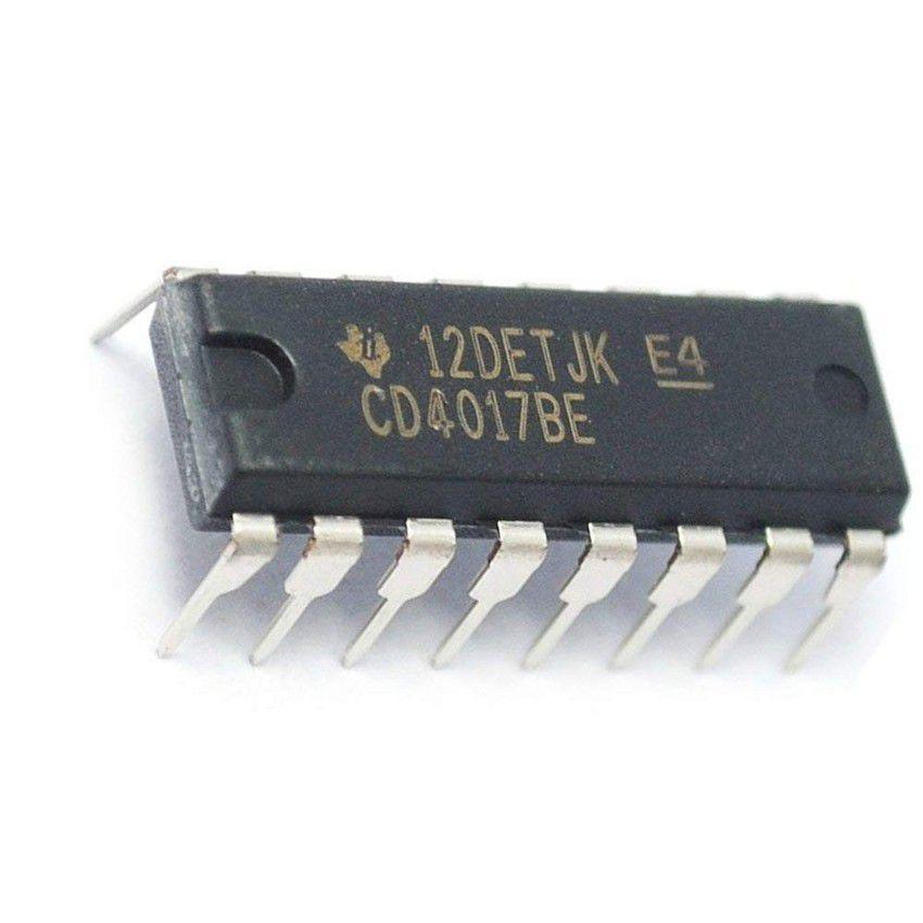 Circuito integrado CD4017 - Contador Década
