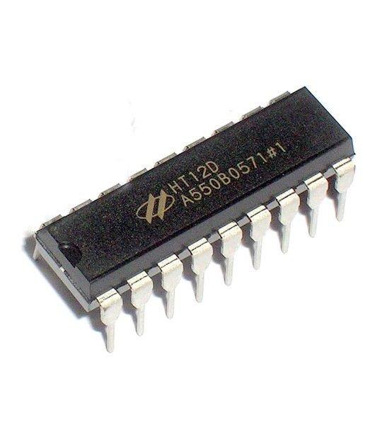Circuito Integrado HT12D - Decoder