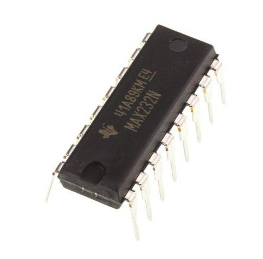 Circuito Integrado MAX232 conversor TTL/RS232
