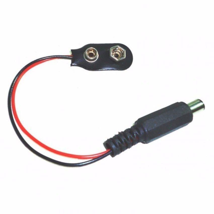 Conector com Plug P4 9V Arduino