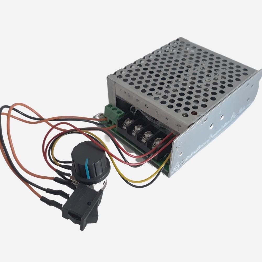 Controlador PWM com Reversão 10-55V 60A