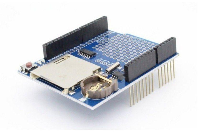 Data Logger Shield para Arduino com RTC DS1307