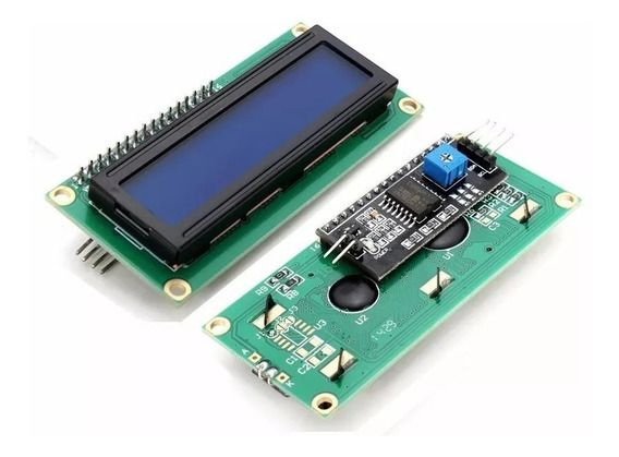 Display LCD 16x2 Backlight azul com módulo I2C integrado