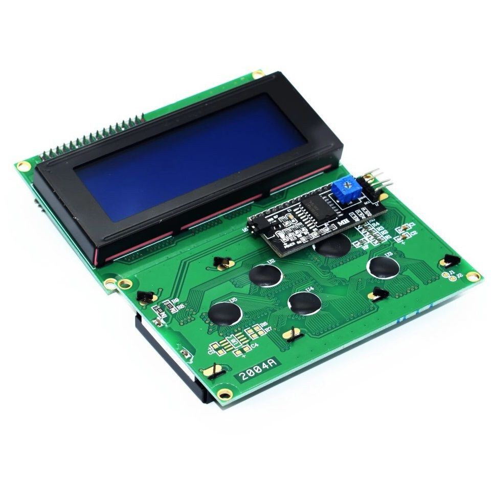 Display LCD 20x4 com I2C integrado Backlight azul