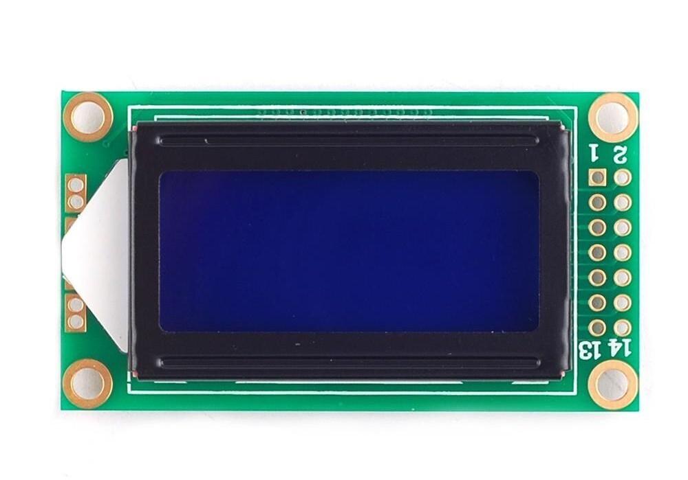 Display LCD 8x2 Backlight Azul