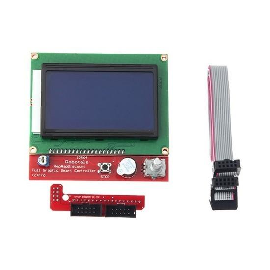 Display LCD Gráfico 128×64 para Impressora 3D