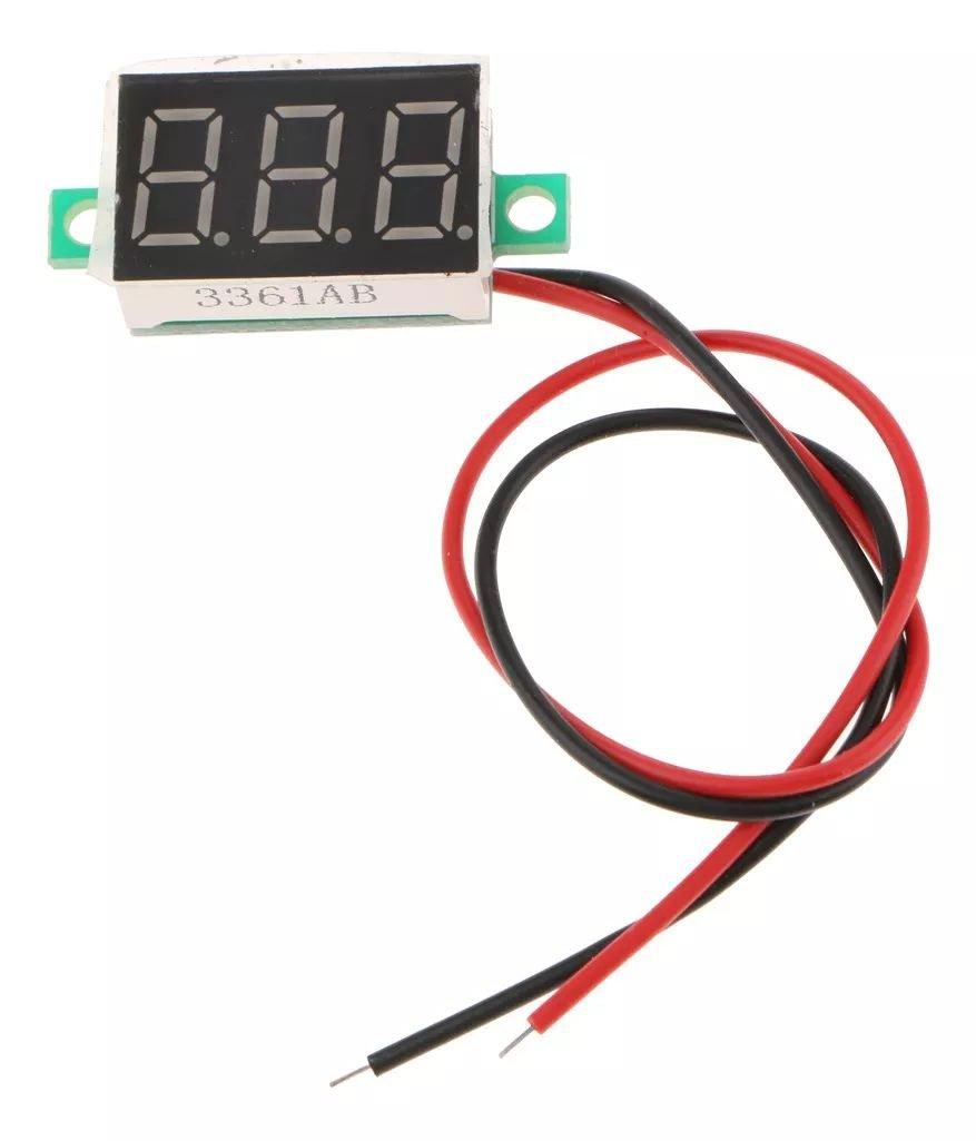 Display Voltimetro 0 - 30V