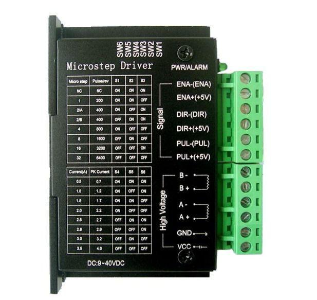 Driver controlador TB6600