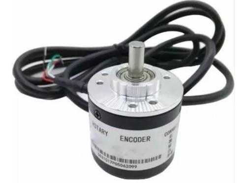 Encoder Incremental 100 a 1000 Pulsos NPN - 5 a 24V