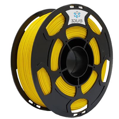 Filamento ABS PREMIUM Amarelo 1Kg 1,75mm