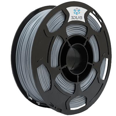 Filamento ABS PREMIUM Cinza 1Kg 1,75mm