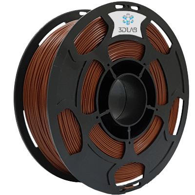 Filamento ABS PREMIUM Marrom 1Kg 1,75mm