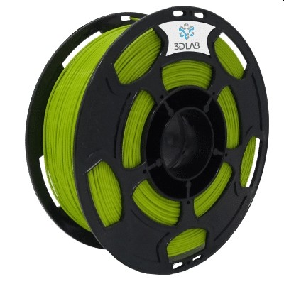 Filamento ABS PREMIUM Verde Abacate 1Kg 1,75mm