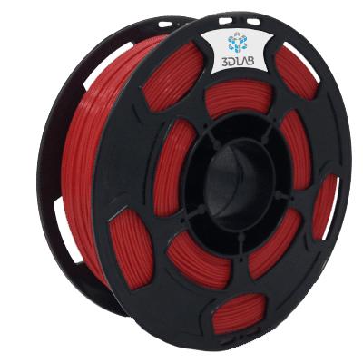 Filamento ABS PREMIUM Vermelho 1Kg 1,75mm