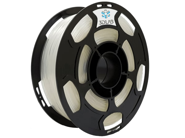 Filamento Flex Transparente 1Kg 1,75mm