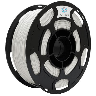 Filamento PETG Branco 1Kg 1,75mm