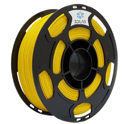 Filamento PLA Amarelo 1Kg 1,75mm