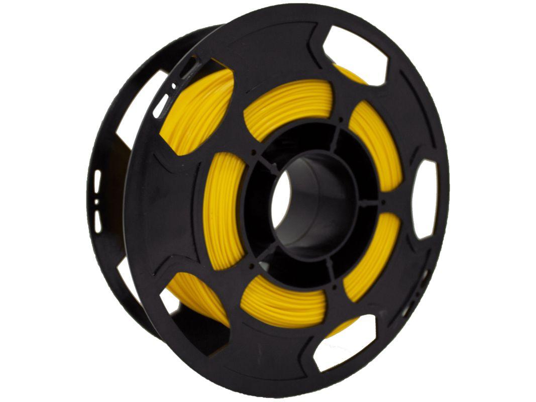 Filamento PLA Amarelo 500g 1,75mm