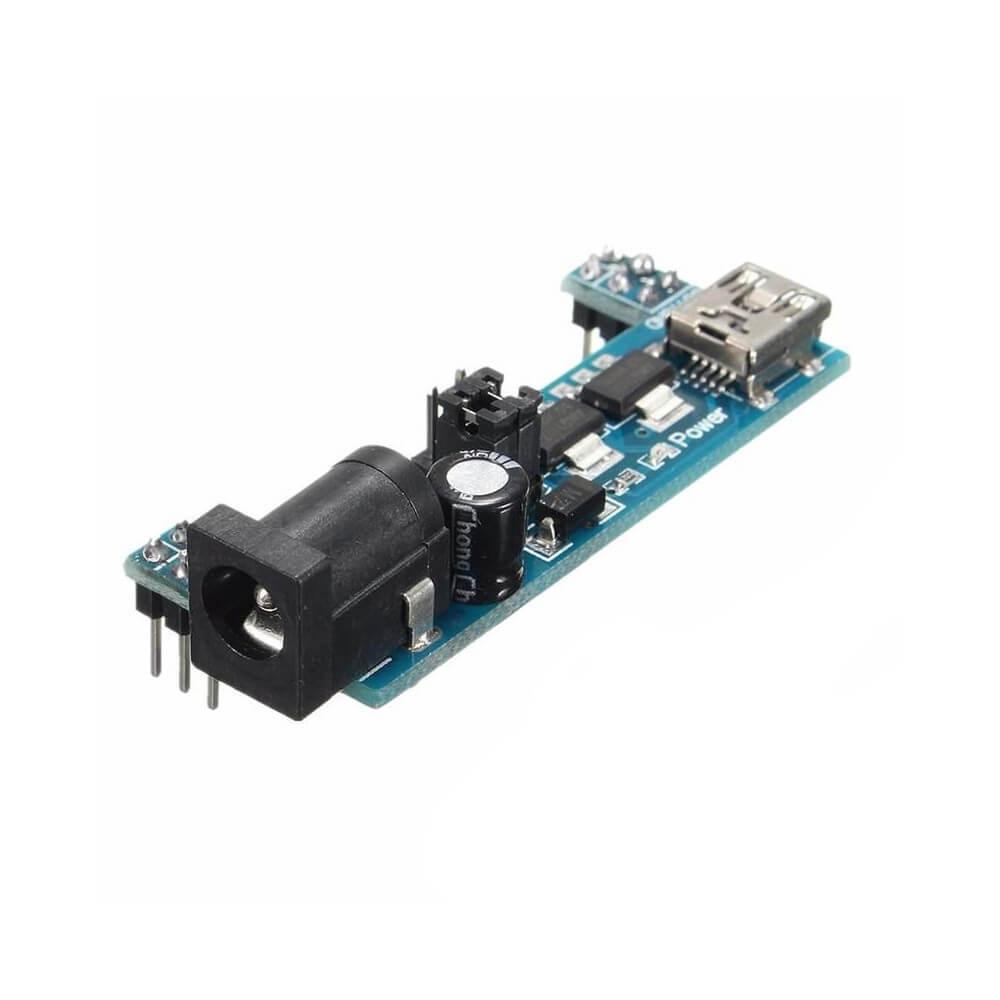 Fonte Ajustável Para Protoboard MB102